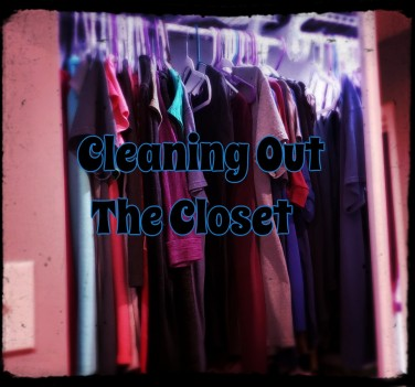 cleaning out the closet